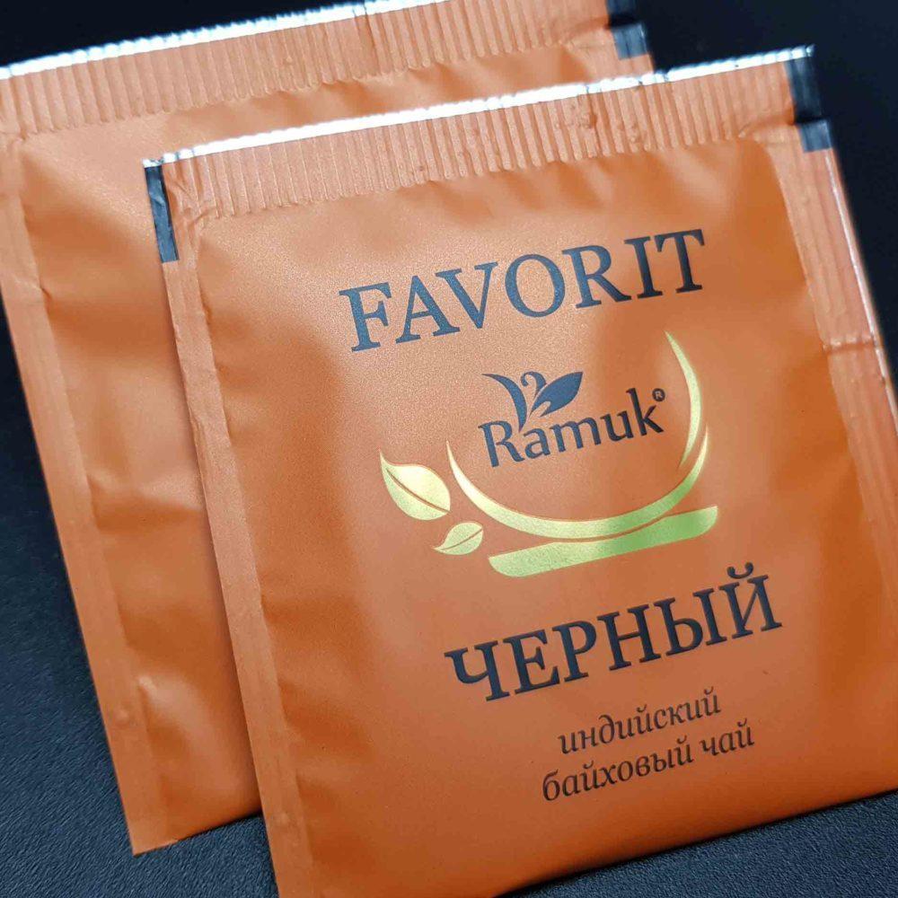 RAMUK FAVORIT Черный чай 200 шт.
