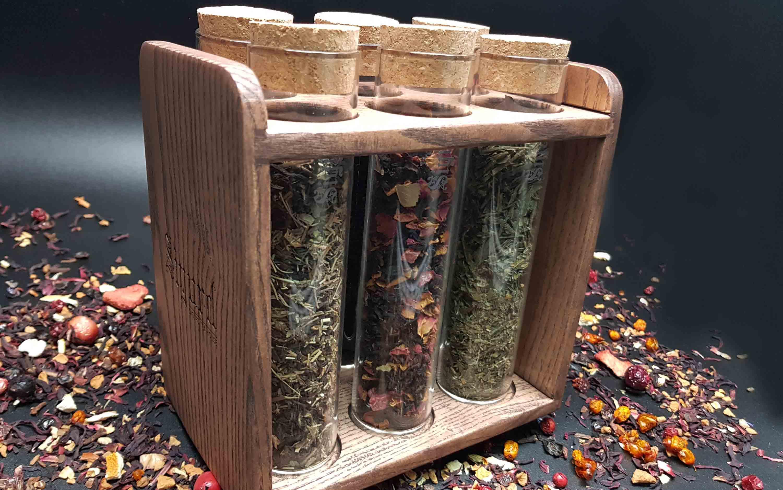 SIGURD Набор стеклянных колб с чаем