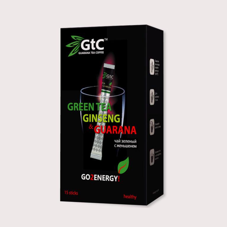 GtC черный с женьшенем 15шт.