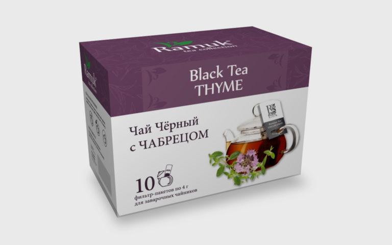 RAMUK Thyme Black Tea 20*1,8гр.