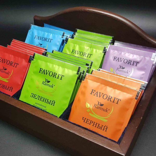 RAMUK FAVORIT Чай Зеленый 200 шт