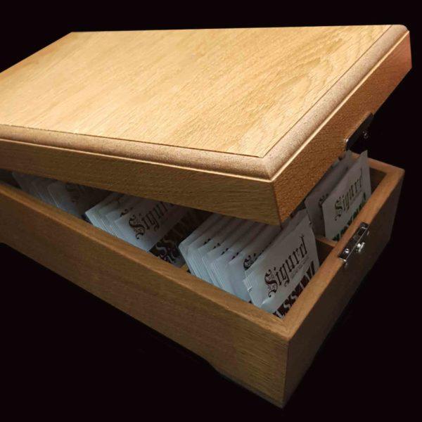 SIGURD в деревянной шкатулке