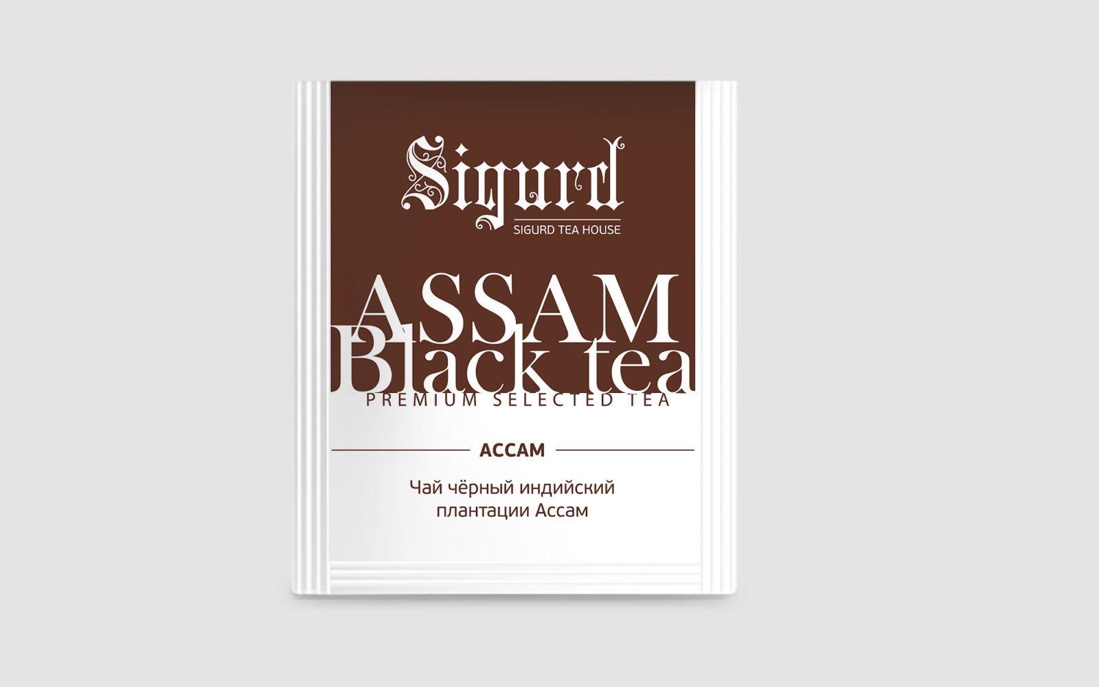 SIGURD BLACK ASSAM 150 шт