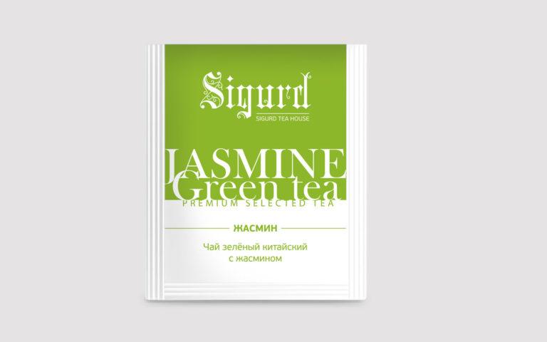 SIGURD JASMINE GREEN TEA 150 шт