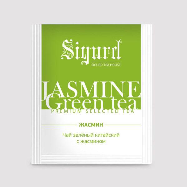 SIGURD Зеленый с жасмином 150 шт