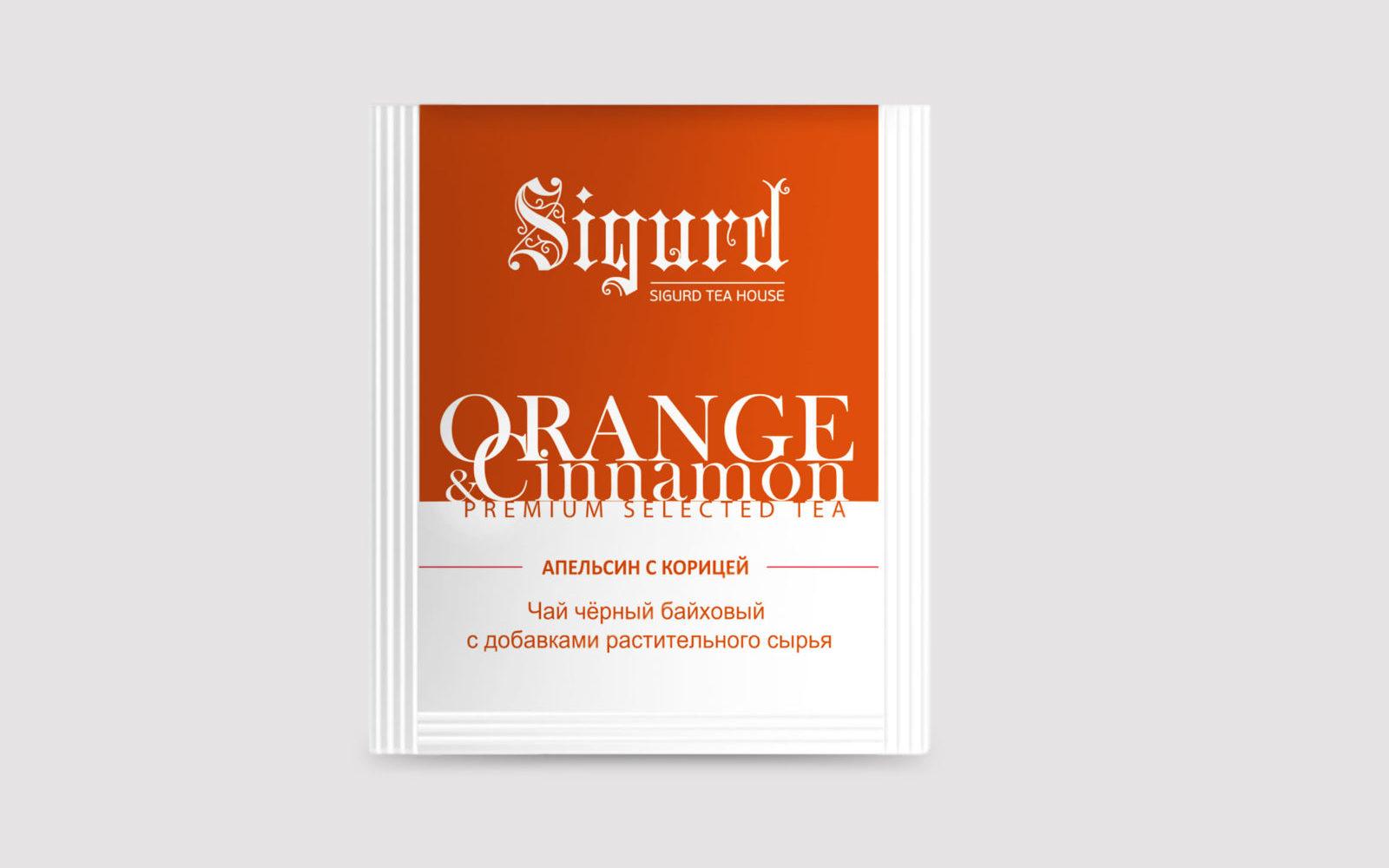 SIGURD ORANGE & CINNAMON 150 шт.