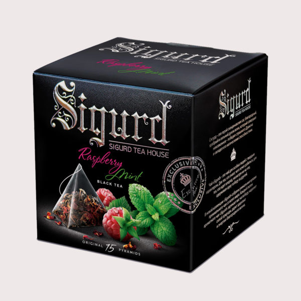 SIGURD черный Raspberry & Mint