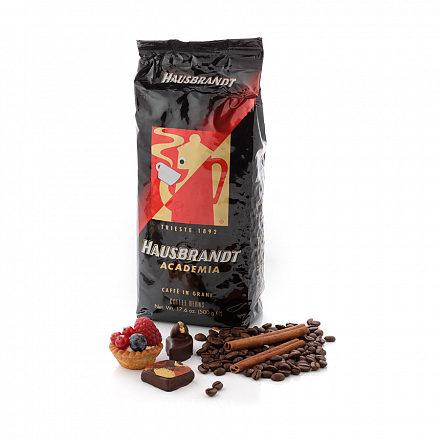 Кофе в зернах Hausbrandt Академия, вакуумная упаковка 500 г