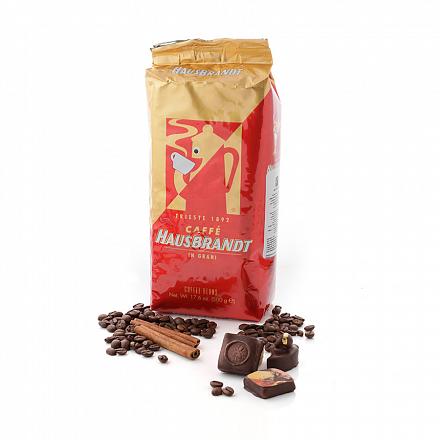 Кофе в зернах Hausbrandt Cупербар, вакуумная упаковка 500 г