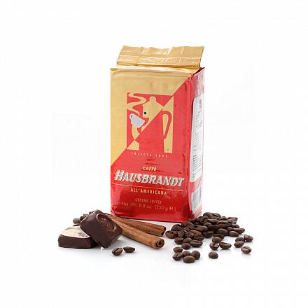 Кофе молотый Hausbrandt Americano, вакуумная упаковка, 250 г