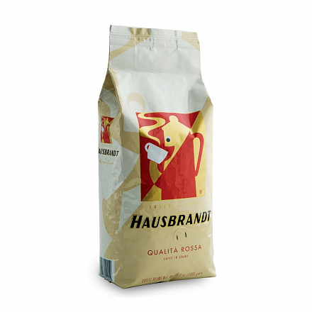 Кофе в зернах Hausbrandt Rossa,вакуумная упаковка  500 г