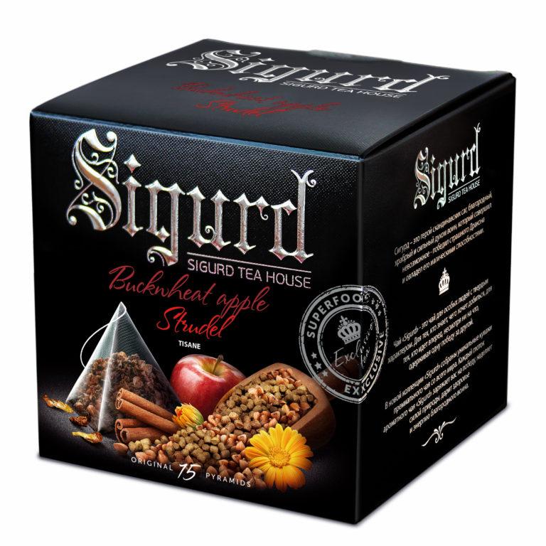 SIGURD чай Buckwheat Apple strude