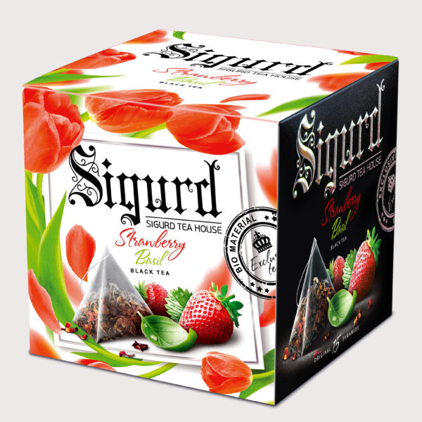 SIGURD черный Strawberry & Basil ВЕСНА