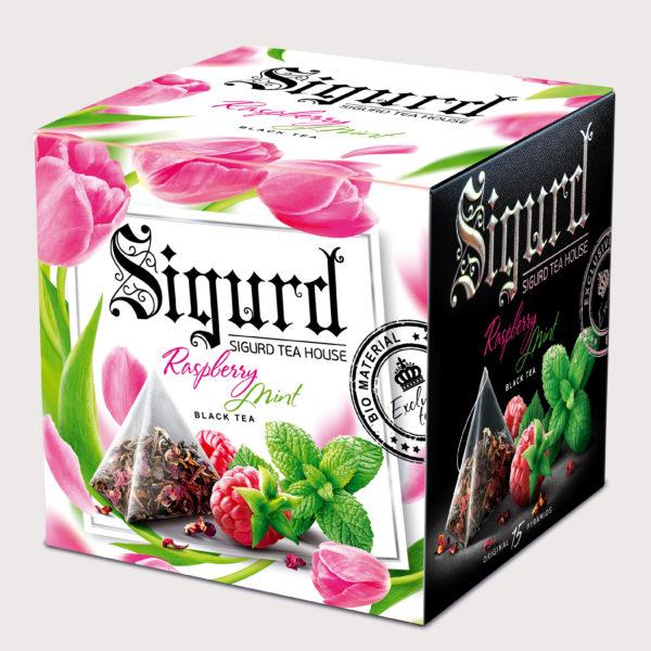 SIGURD черный Raspberry & Mint ВЕСНА