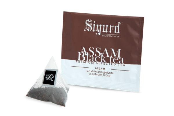 SIGURD BLACK ASSAM черный АССАМ