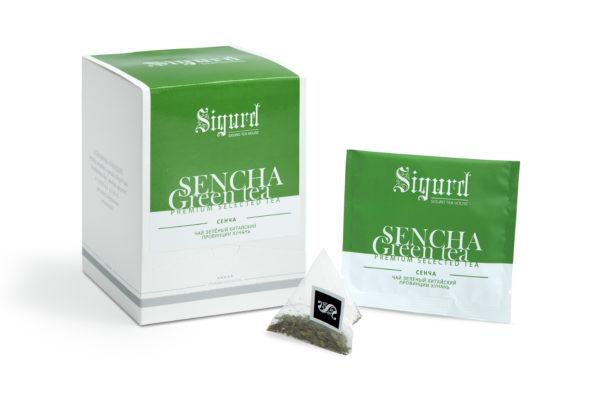 SIGURD SENCHA зеленый сенча