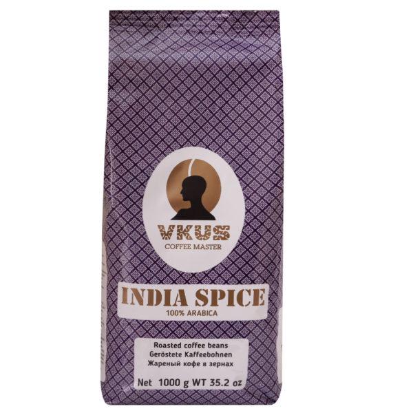 Кофе в зернах India Spice 1 кг (Германия)